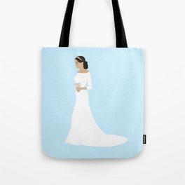 Duchess of Sussex Meghan Markle Royal Wedding Dress Tote Bag