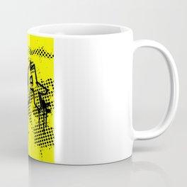 extra splash yellow and black grafitti design Coffee Mug