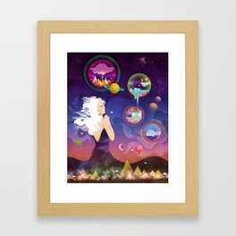 Wonderworlds Framed Art Print