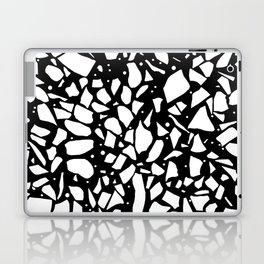 Terrazzo Spot 2 Black Laptop & iPad Skin