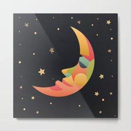 Imaginative Moon Metal Print