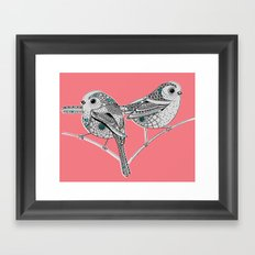 Two birds Framed Art Print
