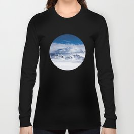 Life is either a daring adventure or nothing at all. ICELAND (Helen Keller Quote) Long Sleeve T-shirt
