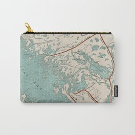 Vintage Map of Georgian Bay Carry-All Pouch