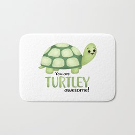 You Are Turtley Awesome! Bath Mat