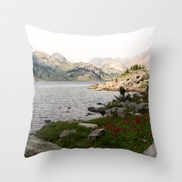 Becker Lake Throw Pillow