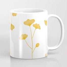 Illuminating Yellow Wildflowers Coffee Mug