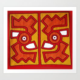 Inca Style Art Print