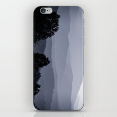 Misty morning at the Smoky's iPhone & iPod Skin