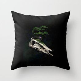 The Third Sanctuary in Space Throw Pillow