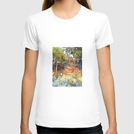 Sunset on the Rocks - Tahoe T-shirt