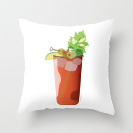 Canadian Ceasar - Best Drink Eh? Throw Pillow
