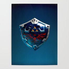 Link Shield Poster