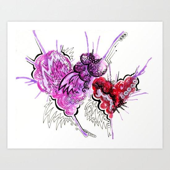 Love Letter 2 Art Print