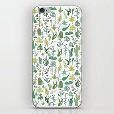 green nature iPhone Skin