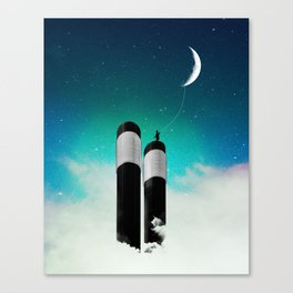 Keepers of The Moon Canvas Print
