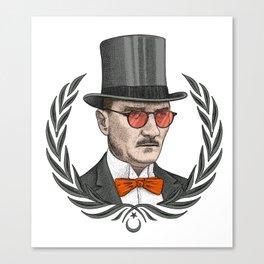 Mustafa Kemal Atatürk Canvas Print