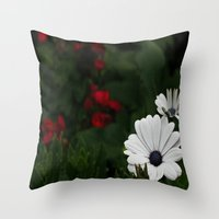 patriotic Throw Pillows featuring Patriotic by Jewelya