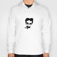 marx Hoodies featuring Groucho Marx by muffa