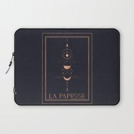 La Papesse or The High Priestess Tarot Laptop Sleeve