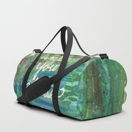 Keep Calm & Water Your Plants Duffle Bag