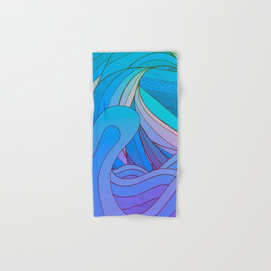 Wave after wave Hand & Bath Towel