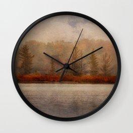 Veil of Mist Wall Clock