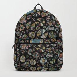 Barca Dots Pattern brown/grey/black Backpack