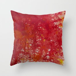 Blood is the New Black Throw Pillow