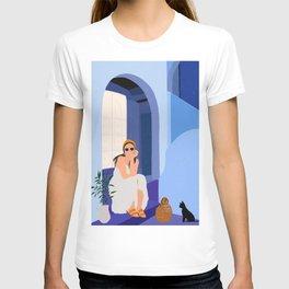 Marrakesh Blue City T-shirt
