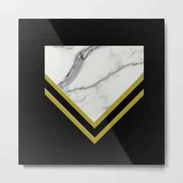 Mellontikós Italian Marble  Metal Print