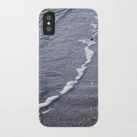 salt water iPhone & iPod Cases featuring Salt water by Emelie Johansson
