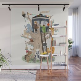 little playhouse Wall Mural