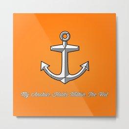 Anchors Aweigh! Metal Print