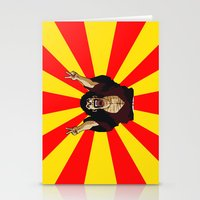satan Stationery Cards featuring Mr Satan by husavendaczek