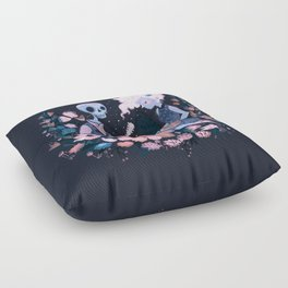 Rhythm of Grief Floor Pillow