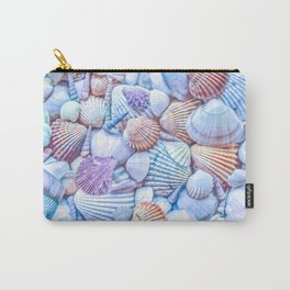 Seashells Everywhere Carry-All Pouch