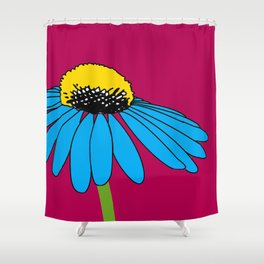 The ordinary Coneflower Shower Curtain