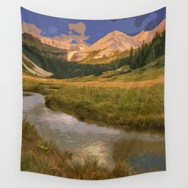 Glacier National Park in Autumn Wall Tapestry