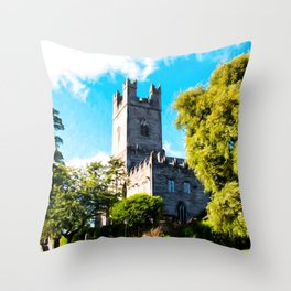 St Mary's Cathedral, Limerick Throw Pillow