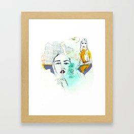 Rayuela Framed Art Print