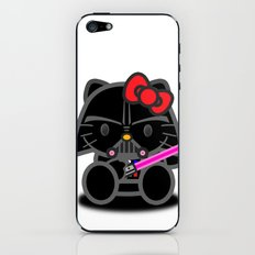 Dark Kitten iPhone & iPod Skin