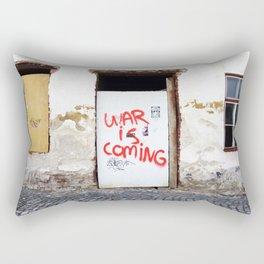 War Is Coming Rectangular Pillow