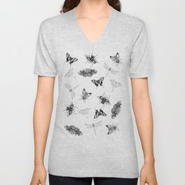 Entomologist Dreams Unisex V-Neck
