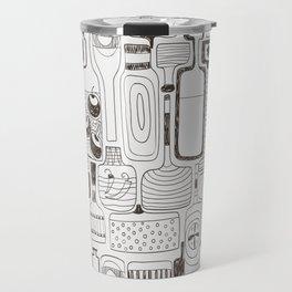 alcoholic pattern Travel Mug