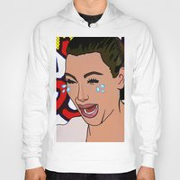 kardashian Hoodies featuring Kim Lichenstein by Fake Wealth