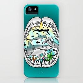 Shark Swim iPhone Case