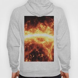 Sun surface with solar flares Hoody