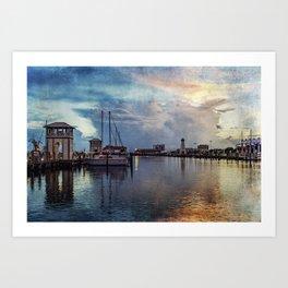 Gulf Coast Summer Art Print