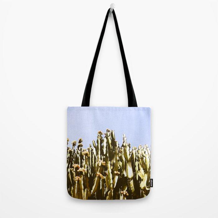 Sticky Cacti Tote Bag